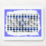 ISRAEL DOTS FRAME PRODUCTS MOUSE PAD