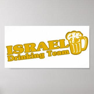 Israel Drinking Team Poster