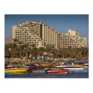 Israel, el Negev, Eilat, Mar Rojo 3 frente al mar Postal