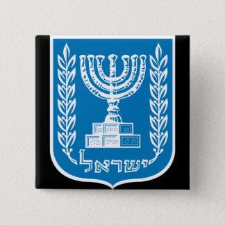 israel emblem button