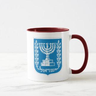 israel emblem mug