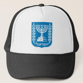 israel emblem trucker hat