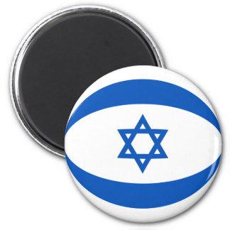 Israel Fisheye Flag Magnet