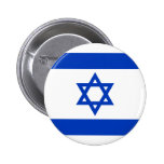 Israel Flag 2 Inch Round Button