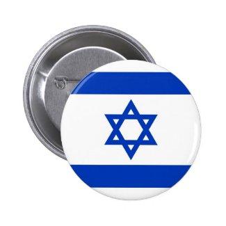 Israel Flag 2 Inch Round Button