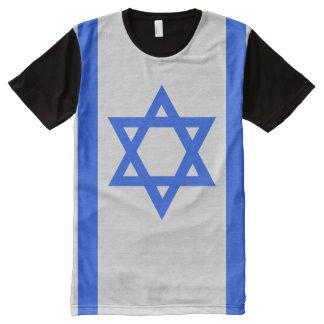 Israel Flag All-Over-Print Shirt