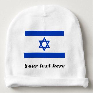 Israel Flag Baby Beanie