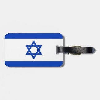 Israel Flag Bag Tag