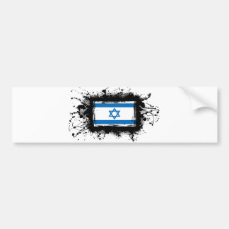 Israel Flag Bumper Sticker