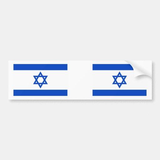 Israel Flag Bumper Stickers