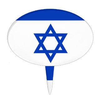 Israel Flag Cake Topper