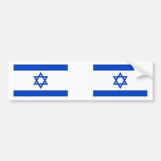 Israel Flag Car Bumper Sticker