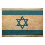Israel Flag Cloth Place Mat