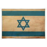 Israel Flag Cloth Placemat