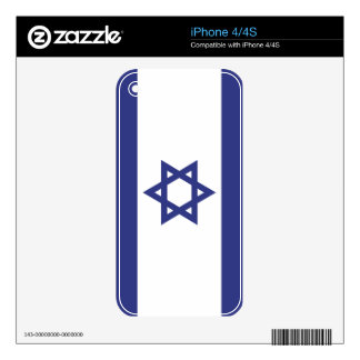Israel Flag Decal For The iPhone 4