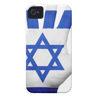 Israel Flag Hand National Fingers Patriotic Wave Case-Mate iPhone 4 Case