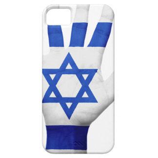 Israel Flag Hand National Fingers Patriotic Wave iPhone SE/5/5s Case