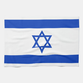 Israel Flag Hand Towel