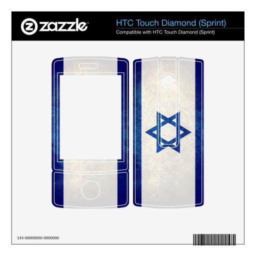 Israel Flag; HTC Touch Diamond Skins