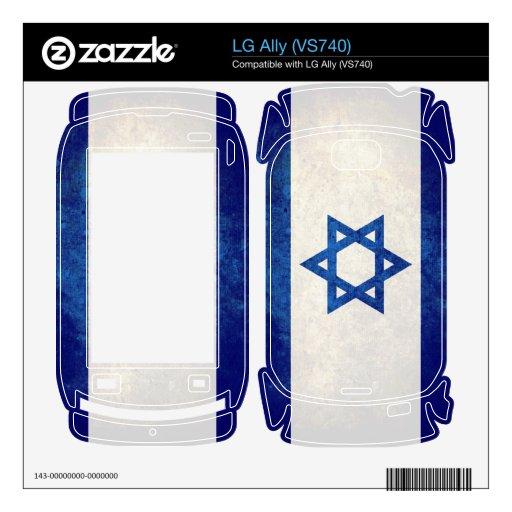 Israel Flag; Israeli; LG Ally Skin