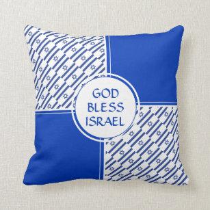 Israel Flag Pillows Decorative Amp Throw Pillows Zazzle