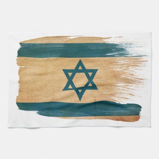 Israel Flag Kitchen Towels