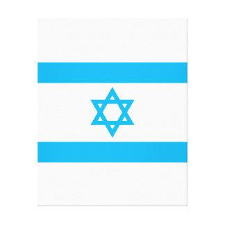Israel Flag - Magen David Canvas Print