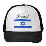 Israel Flag Mesh Hat