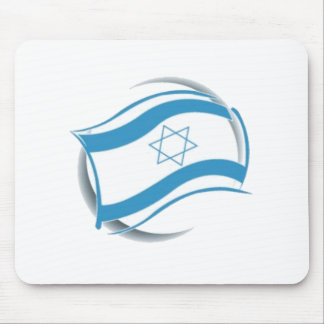 ISRAEL FLAG - modern rendering Mouse Pad