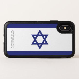 Israel Flag OtterBox Symmetry iPhone X Case
