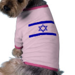 Israel Flag Pet T-shirt