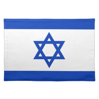 Israel Flag Placemat