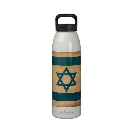 Israel Flag Reusable Water Bottle