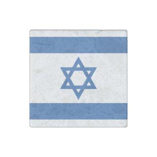Israel Flag Stone Magnet
