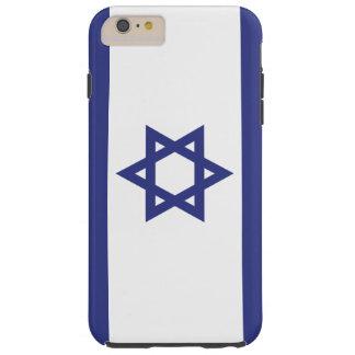 Israel Flag Tough iPhone 6 Plus Case
