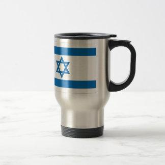 Israel Flag Travel Mug