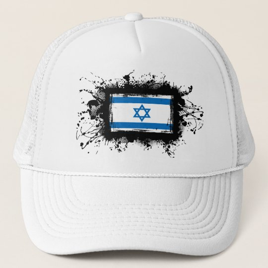 Israel Flag Trucker Hat