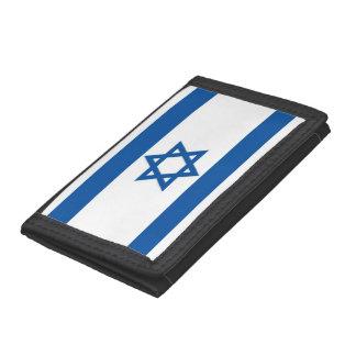 Israel Flag Tri-fold Wallets