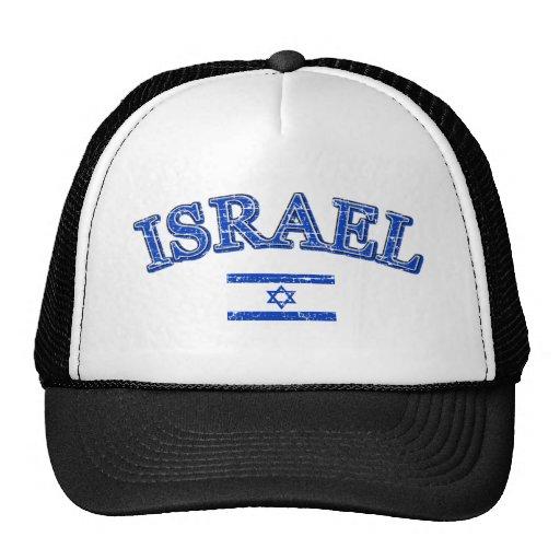 Israel football design trucker hats
