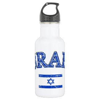 Israel football design water bottle