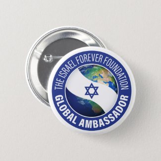 Israel Forever Global Ambassador Button