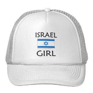 ISRAEL GIRL TRUCKER HATS