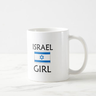 ISRAEL GIRL COFFEE MUGS