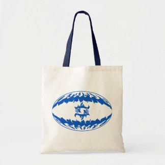 Israel Gnarly Flag Bag Budget Tote Bag