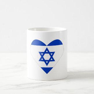Israel heart mug / I love Israel