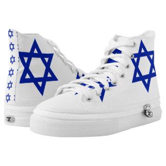 Israel High-Top Sneakers