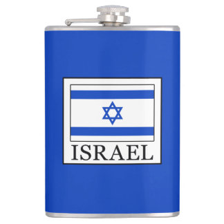 Israel Hip Flask