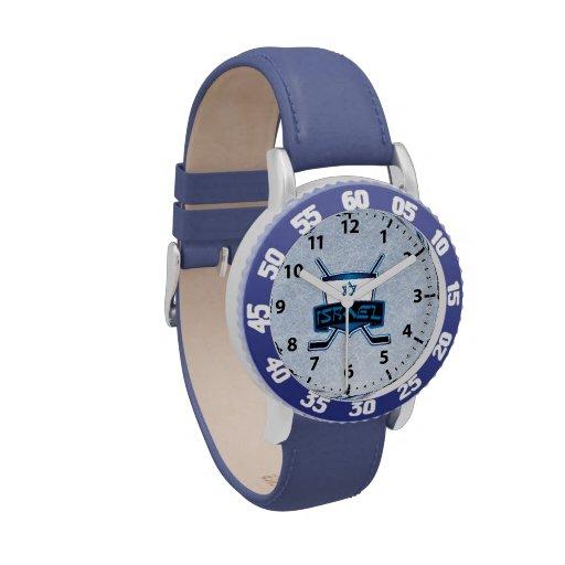 israel ice hockey logo wrist watch zazzle