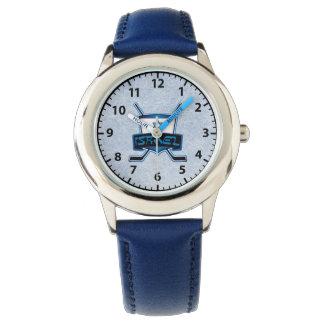 Israel Ice Hockey Logo Wrist Watch