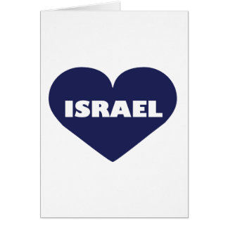 Israel in My Hart Card